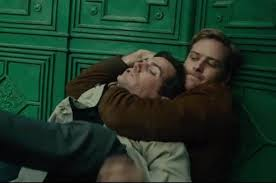 Gay men strangling men