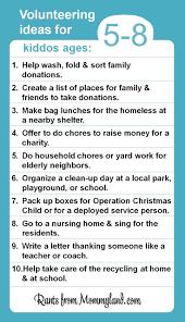 42 Best Kids Volunteering Images On Pinterest Volunteer Ideas