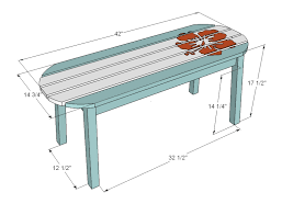 coffee table measurements intended for standard height of bellagio rectangular inspirations cm mm book plans