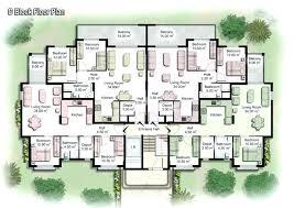 apartment floor plans designs. Apartment Building Floor Plans House Designs 4 Unit