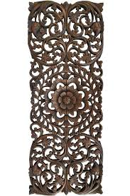 wood carved wall art elegant fl wood carved wall panel wood wall decor for