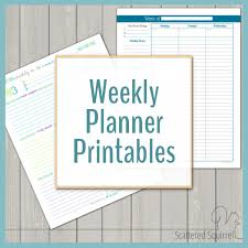 planning calendar template 2018 free printables scattered squirrel