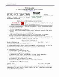 Resume Sample Software Engineer New Resume Sample Software Sample
