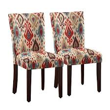 image unavailable image not available for color homepop parsons deluxe ikat dining room chairs set