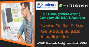 need to know about accounting assignment help online  assignment writing help online accounting is a process that generates and maintains an extensive financial report of a business entity