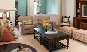 this space is the perfect example of british colonial style with it s mix of dark spindle leg furniture
