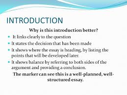 tips for writing good essays the essay structure the essay needs  6 introduction