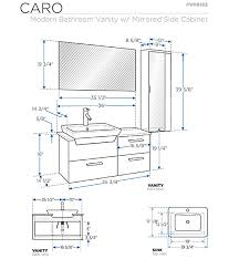 standard bathroom vanity height. Bathroom Vanity Cabinet Dimensions Standard Globorank In Vanities Sizes Within Height H