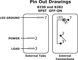 illuminated toggle switch wiring diagram wiring diagram and 3 pin rocker switch wiring diagram diagrams and schematics