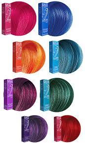 Ion Semi Permanent Color Chart Ion Color Brilliance Semi Permanent Hair Color Reviews