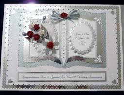 the 25 best 50th anniversary cards ideas on pinterest wedding Diamond Wedding Cards And Gifts diamond platinum 60th 70th wedding anniversary card wife husband mum & dad etc Wedding Anniversary Gifts by Year