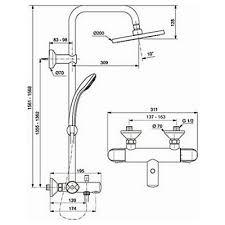 <b>Душевая система Ideal Standard</b> - IdealRain Eco (A6426AA) по ...