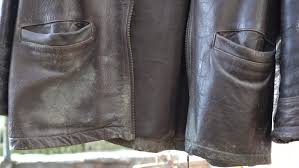mildew growth on leather goods