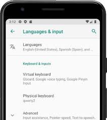 How to change the language on Icemobile G5
