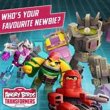 Who's your favourite new character from... - Angry Birds Transformers