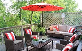 creative outdoor furniture. Extremely Creative Patio Furniture For Small Decks Ideas Outdoor