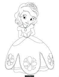 free coloring pages of princess disney princesses p