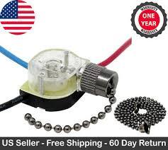 ze 110 pull chain ceiling fan light