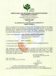 Tariff Structure - Apof Organic Certification Agency