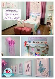 a budget diy mermaid room decor