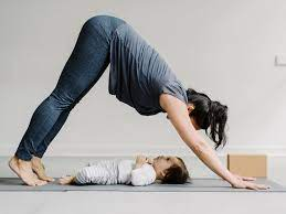 start exercising after giving birth