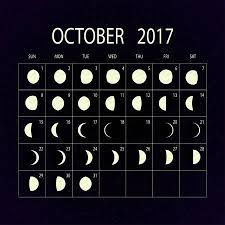 2017 Phases Of The Moon Calendar Giddy Pinterest