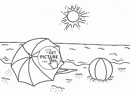 Small Picture Beach Coloring Pages Pdf Archives Inside Summer Coloring Pages Pdf