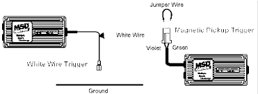 tech tip msd ignition tech msd tech tips diagram 2 white wire trigger