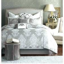 blue damask comforter sets bedding black and gray white quilt