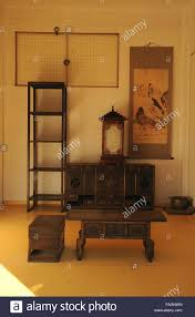 traditional korean furniture. Inside Of The Namsangol Traditional Korean Village - Stock Image Furniture