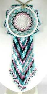 Native American Beaded Dream Catchers New Dreamcatcher Native American Oglala Lakota Tony Monroe Beaded