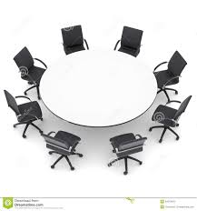 round table clipart black and white. office chairs and round table stock photography image clipart black white e