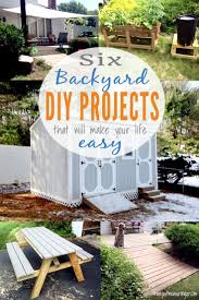 Diy Backyard Projects Diy Backyard Projects That Are Simple Quick And Will Make Your