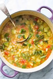 Easy Light Summer Soups Summer Minestrone Soup