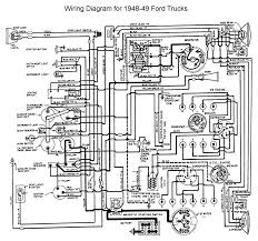 flathead electrical wiring diagrams wiring for 1948 to 49 ford trucks