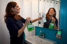Image result for cleaning bathroom mirrors images