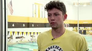Coach Denniston, senior Ryan Russi, and... - Wyoming Swimming & Diving