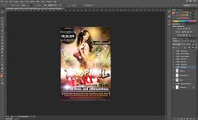 Tutorial: How To Use A Party Flyer Template » Saxoprint Blog Uk