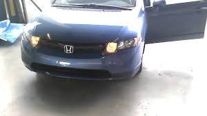 2008 Honda Civic Daytime Running Lights How Turn Off Running Lights On A 8th Gen Civic Youtube