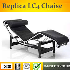 u best replica interior furnishings furniture cowhide leather le corbusier lc4 lounge chair in chaise lounge from furniture on aliexpress com alibaba