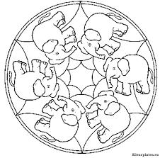 Mandala Dieren Kleurplaten Kleurplateneu
