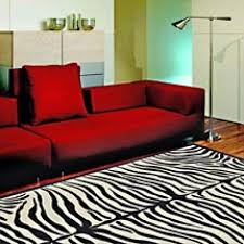flossy red sofa set also uncategorized hot combination then black with zebra rug motif idea for