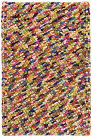 tremendous multicolor rug seurat multi color wool woven by dash albert