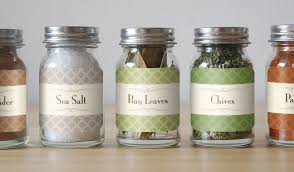 Decorative Spice Jars Custom Spice Labels and Jar Labels StickerYou Products 29