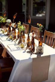 Beer-Bottle-Centerpiece-2   Beer bottle centerpieces, Beer bottles and  Centrepieces