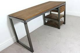 industrial office desks. Incredible Industrial Office Desks Vintage Bespoke Custom Style Desk Metal Table Fan U