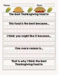 teaching family traditions first grade google search fall in mrs first grade thanksgiving writing persuasive argument for favorite thanksgiving food common core alligned