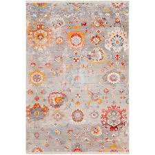 9 x 13 x large transitional gray red and blue rug ephesians rc willey furniture