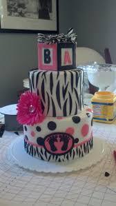 Pink and black baby shower cake | Cake!! | Pinterest | Black ...