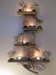 Quirky Unique Driftwood Shelves Solid Rustic Shabby Chic Nautical Artwork